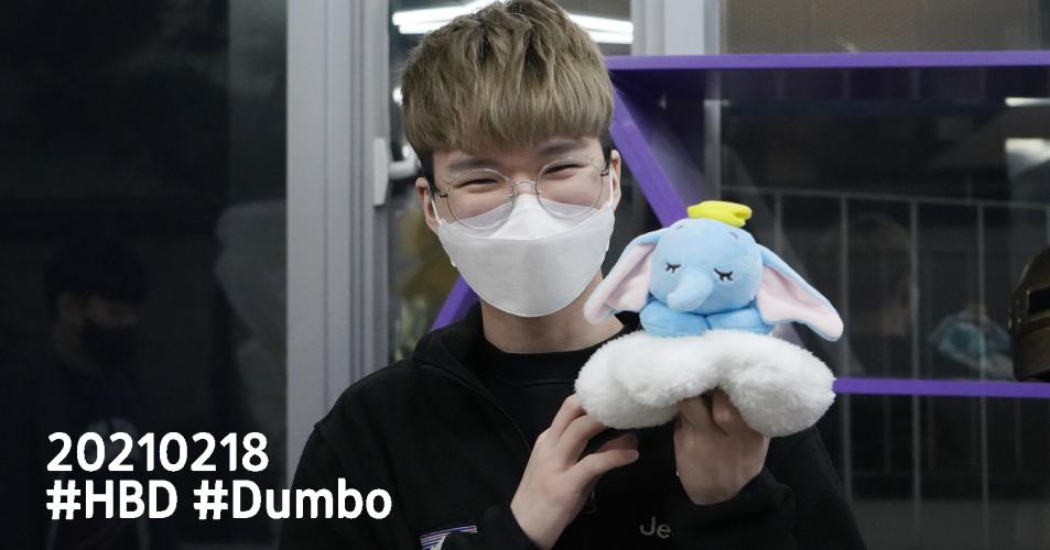 20210218 #HBD #Dumbo